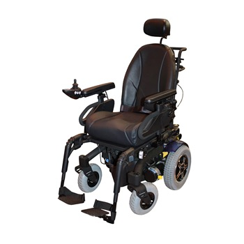 Wheelchair Powered by Lifeline Battery