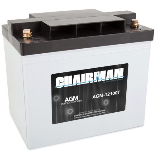Chairman Battery AGM-12100T