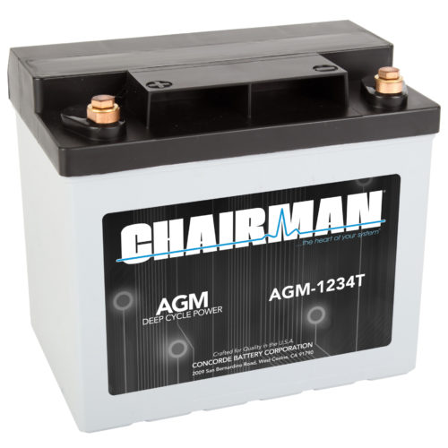 Chairman Battery AGM-1234T