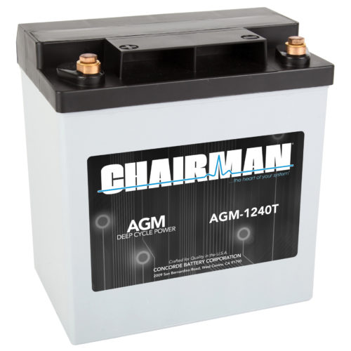 Chairman Battery AGM-1240T