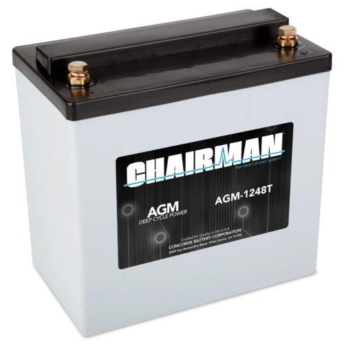 Chairman Battery AGM-1248T