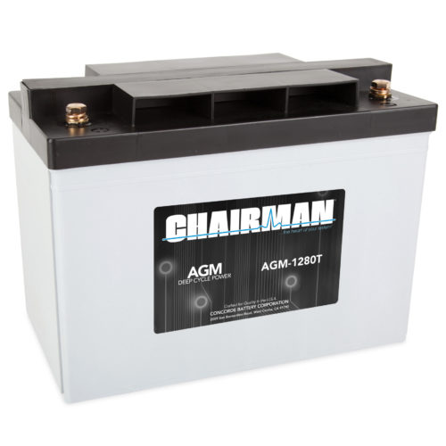 Chairman Battery AGM-1280T