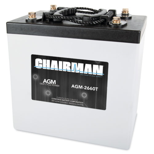 Chairman Battery AGM-2660T