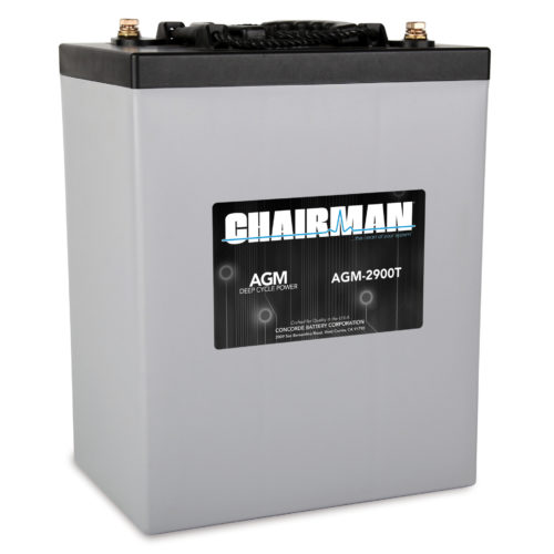 Chairman Battery AGM-2900T