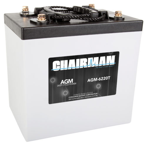 Chairman Battery AGM-6220T Right View