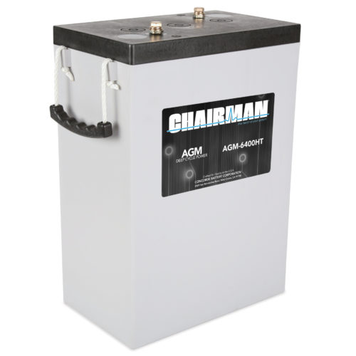 Chairman Battery AGM-6400HT Right View